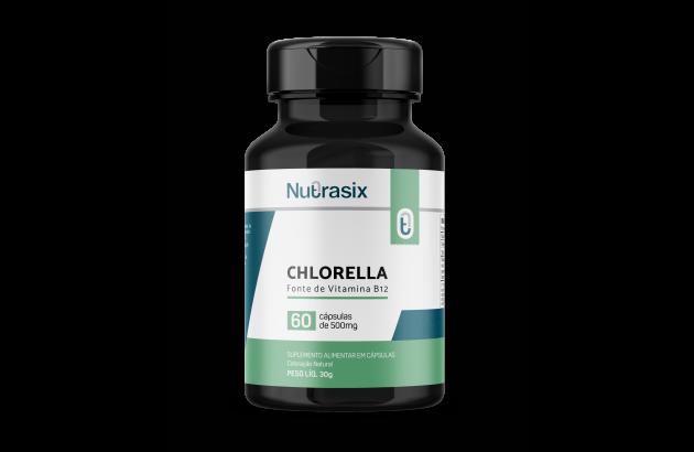 Chlorella 60 cápsulas - Nutrasix