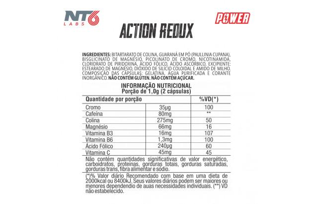 Termogênico Redutor Action Redux 60 cáps - NT6