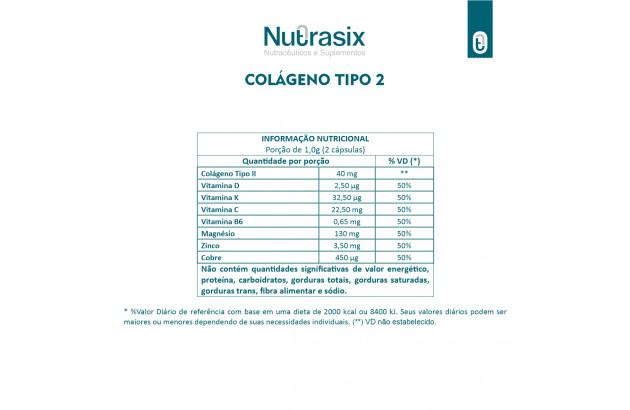 Colágeno tipo 2 - 60 Cápsulas