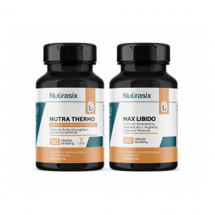 Kit Termogênico + Max Libido - Nutrasix