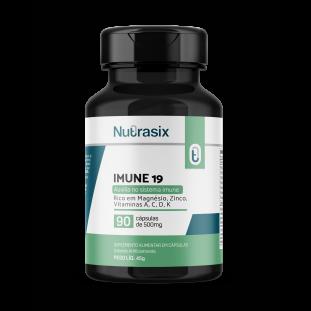 Imune-19 - complexo vitaminico para imunidade 90 cáps - Nutrasix