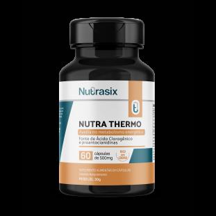 Termogênico Emagrecedor Nutra Thermo 60 cáps - Nutrasix