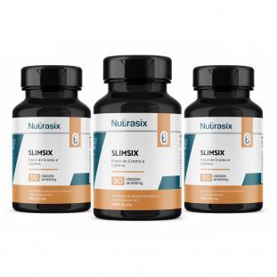 kit com 3 SlimSix 90 cápsulas - Nutrasix